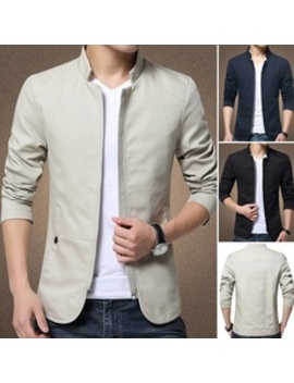 Tome New Men Bomber Jacket Spring Autumn Brand Clothing Casual Male Coat Slim Fit Blazers Wtm C16122300047 C31 by Wish