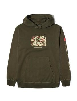 3 Dragons Hooded Sweat by Bodega