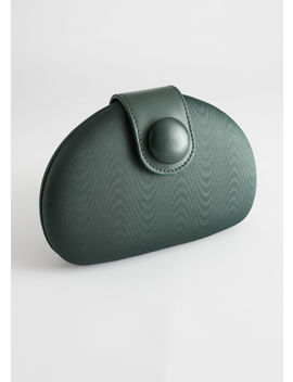 Half Moon Structured Clutch Bag by & Other Stories