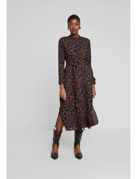 Utility Pocket Animal Print   Maxi Jurk by Banana Republic