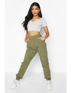 Cargo Denim Jeans by Boohoo