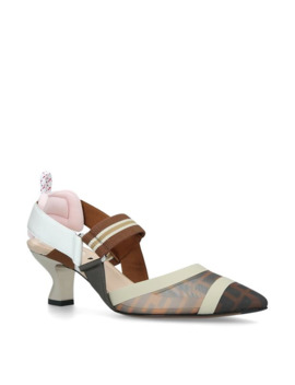 Mesh Slingback Pumps 55 by Fendi