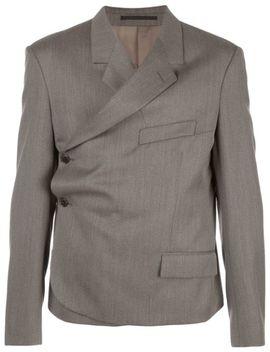Buttoned Wrap Blazer by Martine Rose
