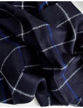 Burton Menswear Scarf In Navy by Burton Menswear London