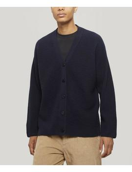 Signal Ribbed Wool Cardigan by Folk