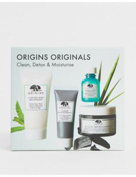 Origins – Clean Detox &Amp; Moisturise Set   70% Sparen by Asos