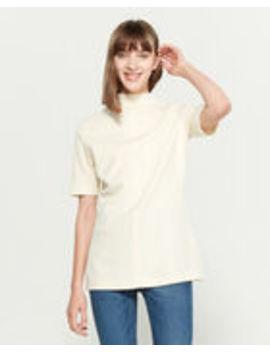 Wool Elbow Sleeve Tunic by Jil Sander