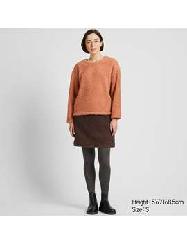 Pile Lined Fleece Long Sleeve Pullover by Uniqlo