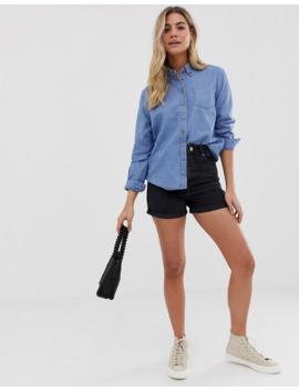 Asos Design   Camicia Di Jeans Lavaggio Chiaro Cali by Asos Design