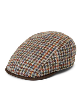 Woven Wool Driver Cap by City Sport
