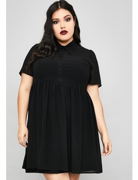 I'm Not Afraid Babydoll Dress by Widow