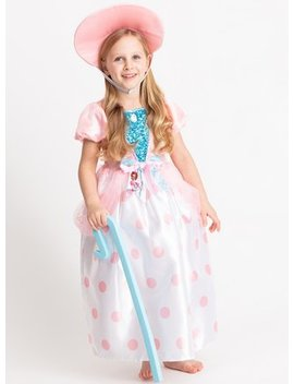 Disney Toy Story Pink Bo Peep Costume   3 4 Yearstuc134573251 by Argos