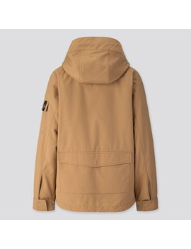 Men Jw Anderson Three Way Military Parka by Uniqlo