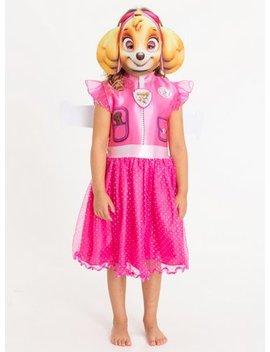 Online Exclusive Paw Patrol Skye Pink Costume   3 4 Yearstuc134005261 by Argos
