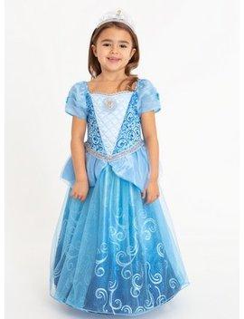 Disney Princess Cinderella Costume   3 4 Yearstuc134004525 by Argos
