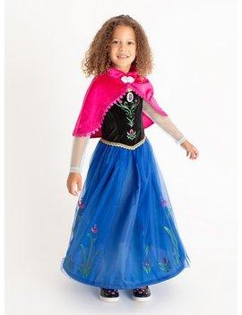 Disney Frozen Anna Costume   3 4 Yearstuc132382792 by Argos
