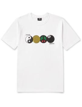 Harmony Printed Cotton Jersey T Shirt by Stüssy