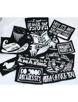 The Adventure Zone Dungeons And Dragons Podcast Mcelroy Punk Patches by Etsy