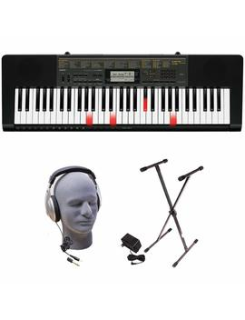 Casio Lk 265 Ppk 61 Key Premium Lighted Keyboard Pack With Stand, Headphones & Power Supply by Casio