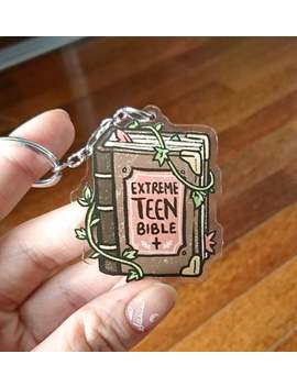 The Adventure Zone : Balance Extreme Teen Bible Acrylic Keyring by Etsy