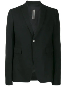 Single Breasted Suit Jacket by Rick Owens