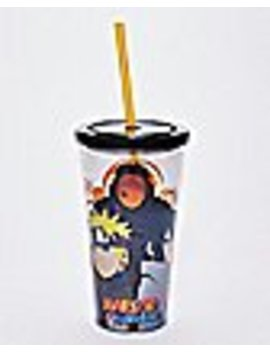Naruto Cup With Straw   20 Oz. by Spencers