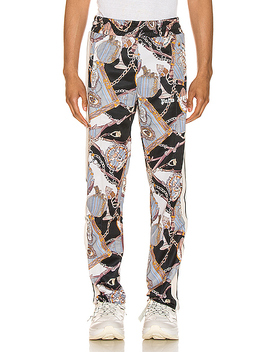 Dark Bridle Track Pants by Palm Angels