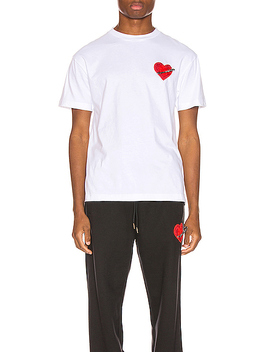 Pin My Heart Tee by Palm Angels