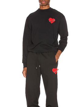 Pin My Heart Long Sleeve Tee by Palm Angels