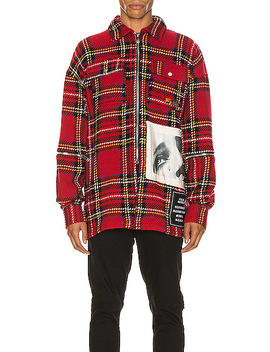Checkered Overshirt by Palm Angels
