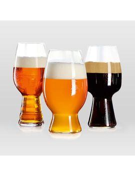 Craft Beer Glassware (Set Of 3) by West Elm