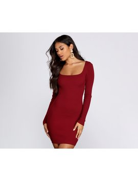 All About Knit Sweater Dress by Windsor