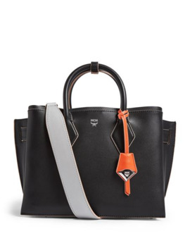 Medium Leather Neo Milla Tote Bag by Mcm