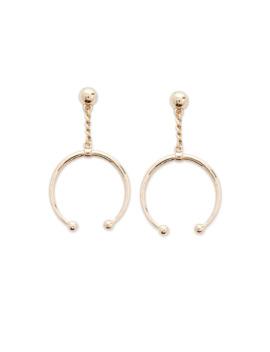 Horn Drop Earrings by Forever 21