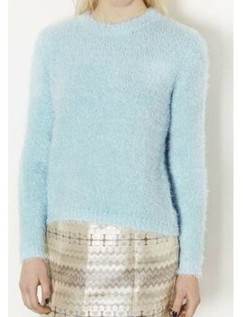 Ladies Mohair Look Soft Marl Knit Jumper One Size Women Long Fluffy Warm Top by Ebay Seller