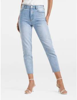 Lucie High Rise Straight Jeans by Forever New