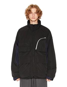 Utility Ski Parka Black by Liful Minimal Garments.