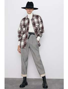 Pantaloni Paperbag Cintura by Zara