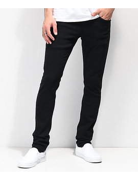 Empyre Recoil Ext Stretch Black Skinny Jeans by Empyre