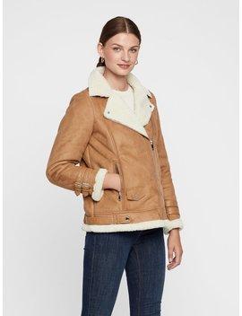 Faux Shearling Jacket by Vero Moda