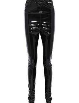 Vinyl Skinny Pants by Msgm