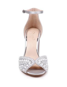 Serenity Ankle Strap Sandal by Jewel Badgley Mischka