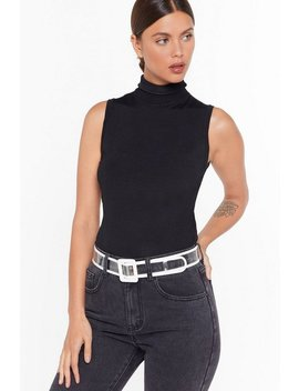 It All Becomes Clear Perspex Buckle Belt by Nasty Gal