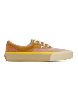 Pink & Multicolor Era Vlt Lx Sneakers by Vans
