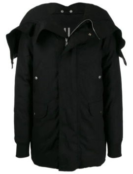 Larry Jumbo Parka Brother Coat by Rick Owens