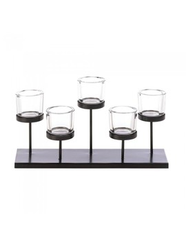 Gallery Of Light 5 Cups Staggered Candleholder by Gallery Of Light