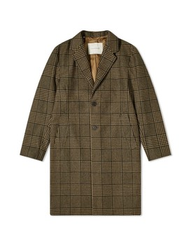 Mackintosh Stanley Loro Piana Check Chesterfield Coat by Mackintosh