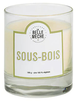 Forest Floor Scented Candle by La Belle Meche