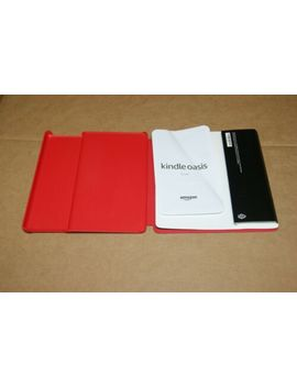 Amazon Water SafeKindle Oasis Water Safe Fabric Cover, Punch Red by Amazon