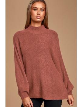 Cozy Perfection Plum Purple Dolman Sleeve Sweater Top by Lulus
